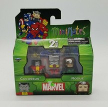 Marvel Minimates Colossus Rogue X-Men Diamond Select Art Asylum 2012 New... - $19.68