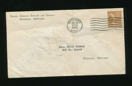 1945 Mailed Stamped Letter Grand Avenue Christian Church Edith Ramsey Bo... - $7.92