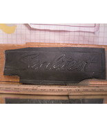 Flexographic Printing Plate Rubber Stamp - Sealtest - $8.55