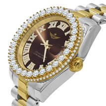 Overlord Steel Cz Watch | 5303549 - £80.73 GBP