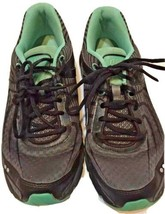Ryka Motive Running Fitness Athletic Shoes Sneakers Teal Gray Women's 8.5 EUC - $25.47