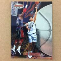 Tim Duncan 1997-98 Bowman's Best Rookie Card #106 San Antonio Spurs Topps - $9.85