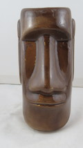 Vintage Tiki Mug - Moai Face - Locally Crafted - $49.00