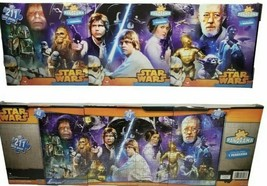 Star Wars 3 In 1 Panoramic Puzzle- 3 Puzzles Per Pack-2 Lots Of 3= 6 Puz... - $18.40