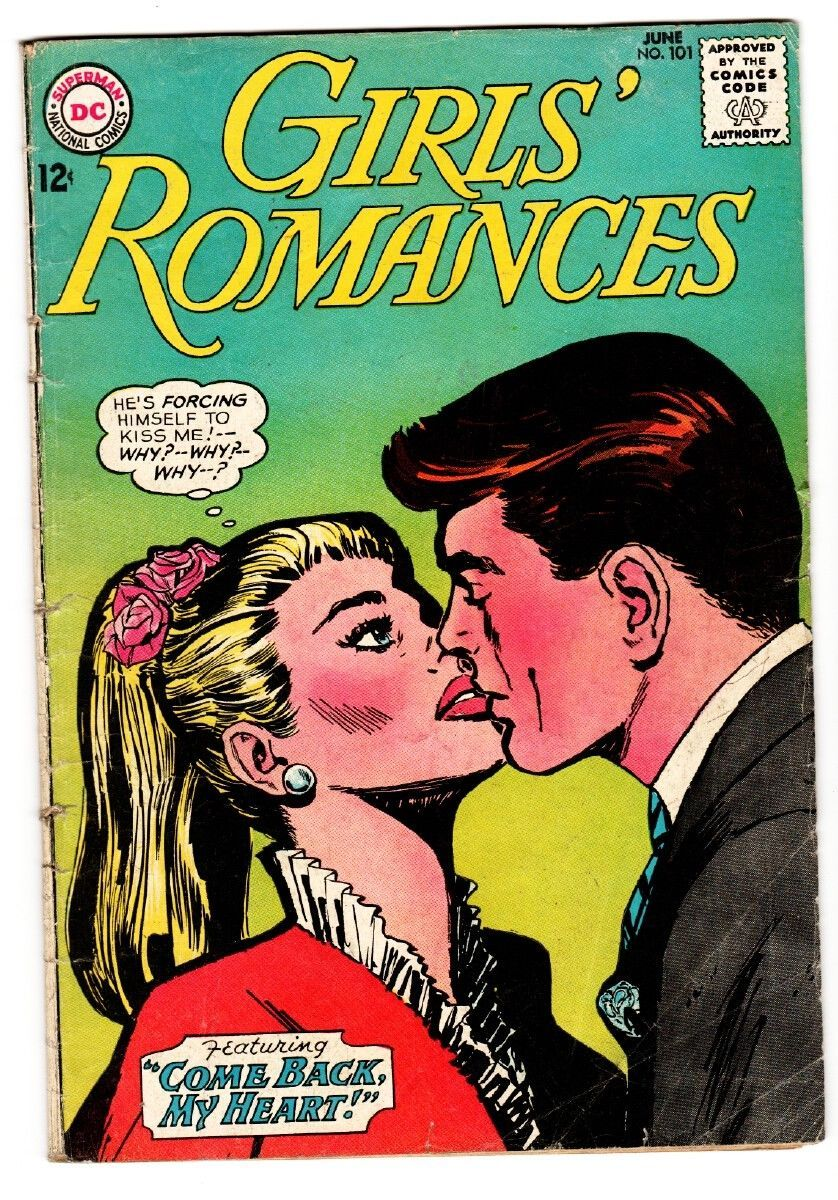 GIRLS' ROMANCES #101 comic book-D.C. ROMANCE vg