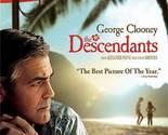The Descendants ( Blu-ray DVD Set ) George Clooney Movie