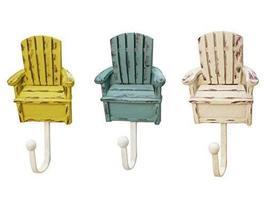 Set of 3 Creative Europea Decorative Hooks Clothes Hooks WHITE, Chairs