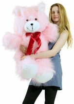 American Made Giant Pink Teddy Bear 36 Inch Soft 3 Foot Teddybear Brand New - $97.11