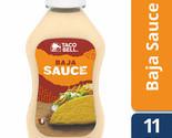 Taco Bell Baja Sauce, 11 Ounce Bottle NEW FLAVOR Taco Sauce