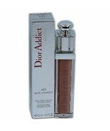 DIOR ADDICT GLOSS MIRROR SHINE VOLUME & CARE 6.5ML #423 BEIGE HIGHNESS NIB - $33.17