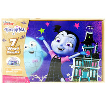 Disney Junior's Vampirina 7-Pack of Wood Puzzles by Cardinal - $19.79