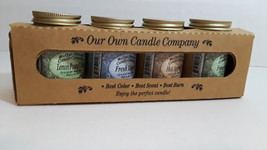 Our Own Candle 4 pack Gift Set Everyday Fragrances - €18,89 EUR