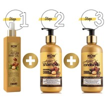 WOW Skin Science Luxuriant Hair care Kit -730mL - $42.99
