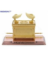 """The Ark of the Covenant Gold Plated Table Top  Israel Hebrew Jewish 7"""" - $55.00"""