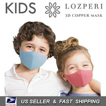 [ LOZPERI ] Kids Copper Infused Face Mask Reusable (Made In Korea) Choos... - $9.70