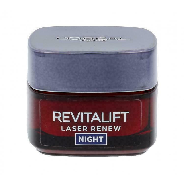 Primary image for L'Oreal Paris Revitalift Laser X3 Night Cream Anti Age Wrinkle Hyaluronic Acid