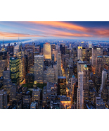 New York at Night, Fine Art Photos, Paper, Metal, Canvas Prints - $40.00