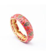 Fashion Enamel Women Stretchy Bangle - $21.73