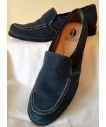 Hush Puppies Nineteen Fifty Eight Heirloom Blue Suede Shoes Size 7 or 7 ½ N - $89.09