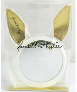 Kendall + Kylie Cosmetic Makeup Mirror White / Gold Bunny Ear Mirror - $4.74