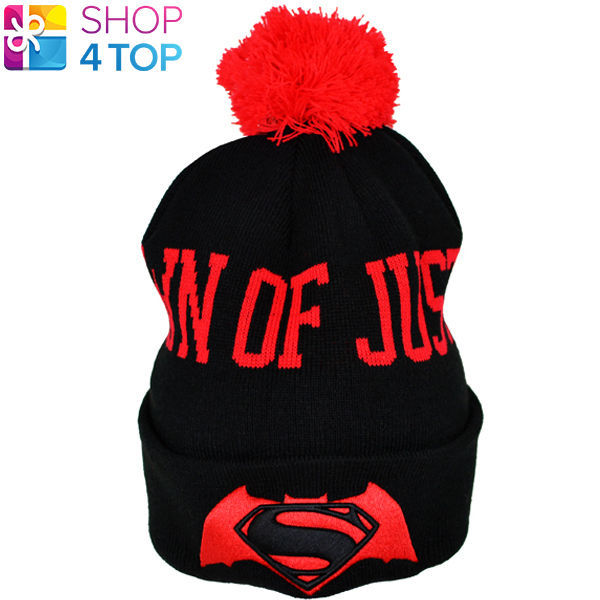 82a028c6050 Batman V Superman Bobble Ski Cuff Knitted and 50 similar items. 57