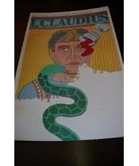 Vintage Poster I Claudius Chwast Derek Jacobi PBS Seymour  - $118.79