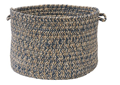 Colonial Mills Tremont Utility Basket, 14 by 10-Inch, Denim
