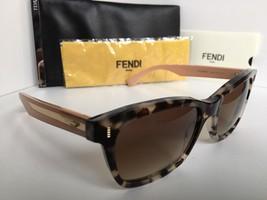 New FENDI FF 0086/S HK3D8 53mm Gray Tortoise Women's Sunglasses - $259.99