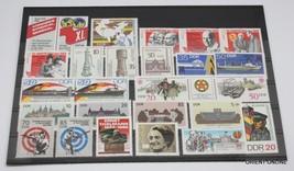 German DDR 1986 SC#2516-2578, Stamps, 54 Pieces/21 Set, Mint Never Hinge... - $42.08