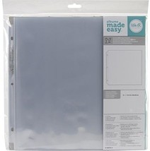 We R Memory Keepers 12 X 12 Inch 3-Ring Album Page Protectors, 10 PK - $9.59