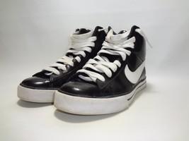 Nike Sweet Classic High 354697-001 High Top Sneakers Black Patent Women ... - $34.64