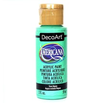 Americana Acrylic Paint 2oz-Sea Aqua Opaque - $6.91