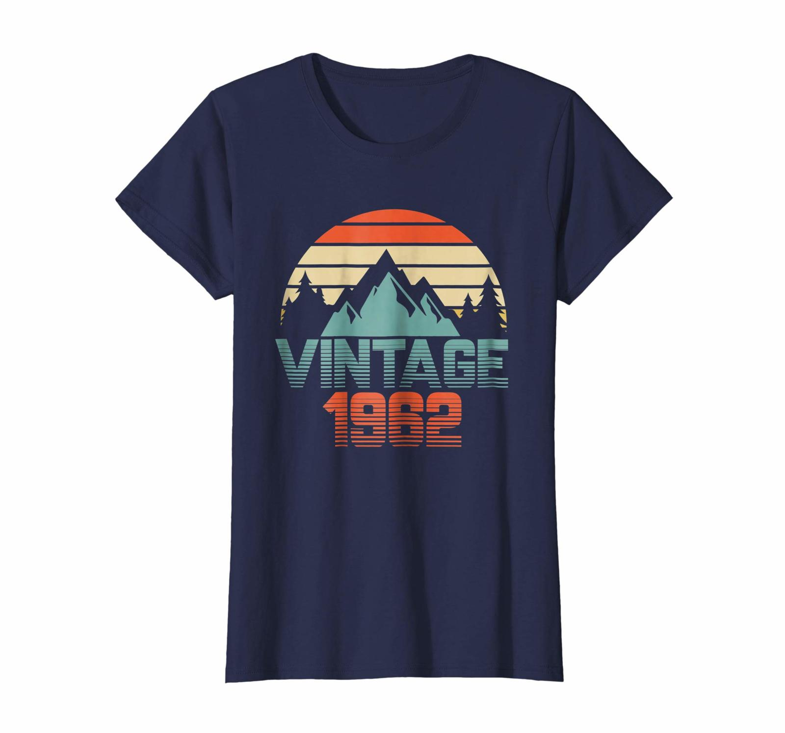 Brother Shirts - Vintage 1962 Shirt 56th Birthday Gifts 56 Years Old Awesomne Wo