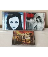 Music Lot 3 CDs Evanescence Fallen and Dido Life for Rent and Totally Hi... - $11.99