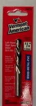 "VERMONT AMERICAN 13474 3/8"" High Speed Steel 118° Left-Hand Drill Bit Fr... - $5.94"