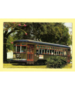Color Post Card, ONE OF AMERICA'S LAST CONVENTIONAL STREET CARS (New Orl... - $6.50
