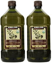 Kirkland Signature, Organic Extra Virgin Olive Oil 3.6 Ounce brzjq (Pack of 2) - $97.05