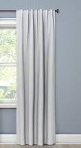 """Threshold Seagull Gray/White Blackout Curtain Lined Panel Weave 50"""" x 84... - $19.79"""