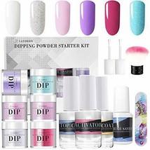 Latorice Dipping Powder Nail Set for Nail Art 5 Colors Collection, Dip Powders - $21.45