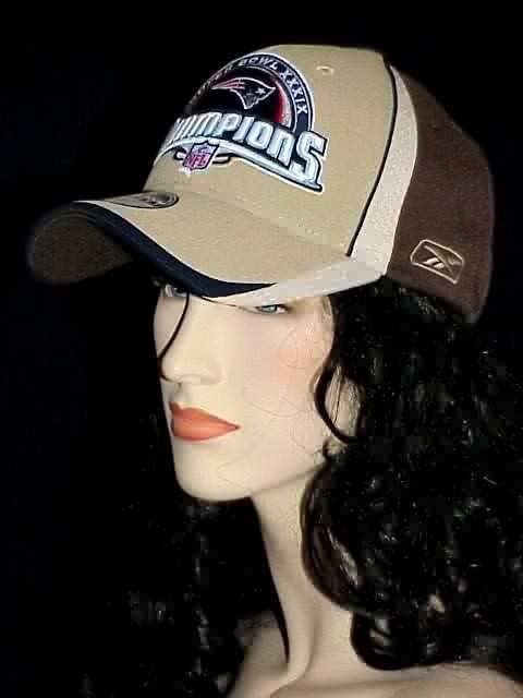New England Patriots NFL Super Bowl 39 XXXIX 2004 Champions Locker Room CAP  HAT 094513e05