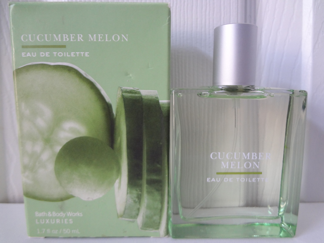 Bath & Body Works Luxuries Cucumber Melon Eau de Toilette 1.7 oz / 50 ml