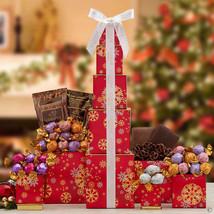 Godiva Holiday Snowflake Christmas Tower ~ Free Shipping - $55.04