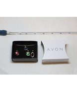 Womens Avon Spice Moderne 4 Piece Interchangeable charms Necklace F39306... - $29.69