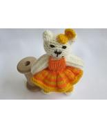 Handmade teddy bear doll toy - pocket bear - nursery decoration - newbor... - $18.00