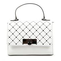 White ONE SIZE Michael Kors Womens Handbag VIOLET 35S7SV1S2L OPTIC WHITE - $306.38