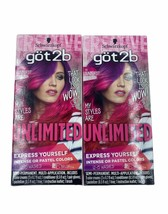 Schwarzkopf Got2b Unlimited Semi-Permanent Hair Color 110 Sunburst Colle... - $15.99