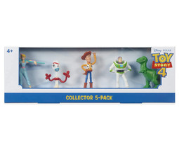 Toy Story 4 Collector 5-Pack Mini Figures Woody Buzz Rex Forky Bo Peep F... - $12.19