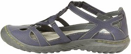 NEW JBU by Jambu Denim Blue Ladies' Sydney Flat Sandals for Women JB19SNY45 image 2