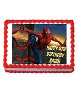 Spiderman Avengers Edible Cake Image Cake Topper - $8.98+