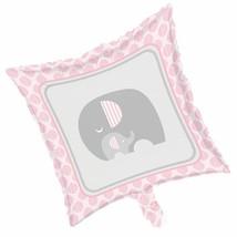 Little Peanut Girl Metallic Foil Balloon Pink Elephant Baby Shower - $4.35